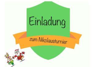 Einladung Nikolausturnier 2019